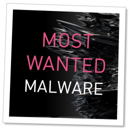 Top 10 Most Wanted Malware
