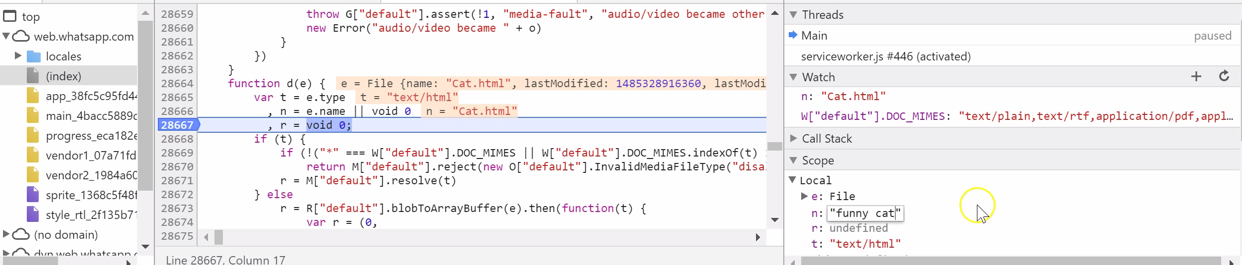 """Html"""" To The Variable In  Order To"""