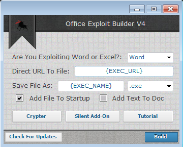 One Click Office Exploit – Introducing the Office Exploit